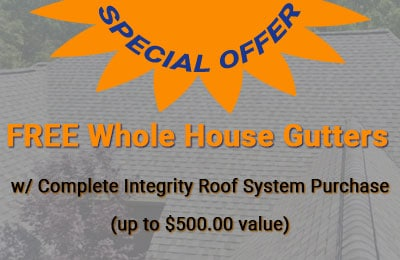 Coupon $500.00 Credit Towards Whole House Gutter System